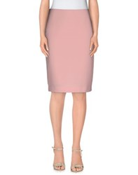 Anna Rachele Jeans Collection Skirts Knee Length Skirts Women Pink