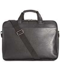 Kenneth Cole Reaction Slim Briefcase Black