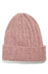 Vince Ribbed Beanie Pink Soft Pink