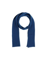 Gallo Accessories Oblong Scarves Slate Blue
