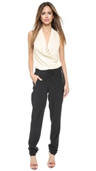 Ramy Brook Jilli Jumpsuit Cloud Black