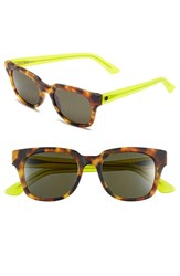 Electric Eyewear Women's Electric '40Five' 50Mm Retro Sunglasses Tort Lime Grey