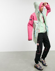 Berghaus Tempest 89 Jacket In Pink Green