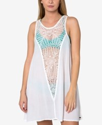 O'neill Sophie Crochet Cover Up Women's Swimsuit White