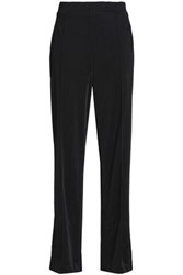 By Malene Birger Ponte Wide Leg Pants Black
