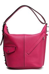 Marc Jacobs Woman Studded Leather Tote Magenta