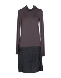 Only 4 Stylish Girls By Patrizia Pepe Knee Length Dresses Lead