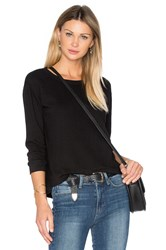 Wilt Shrunken Crop Sweatshirt Black