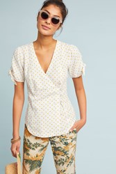 Maeve Louise Wrapped Blouse Assorted