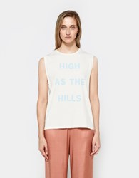 6397 High As The Hills Muscle T White