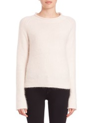 Nicholas Angora Blend Sweater Blush Navy