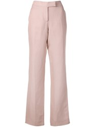 Tom Ford Straight Leg Trousers Pink