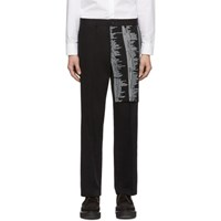 Yang Li Black Samizdat Chino Trousers