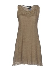 Jei O O' Short Dresses Dove Grey