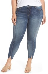 Kut From The Kloth Plus Size Reese Seam Ankle Skinny Jeans Poetic