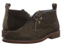 Tommy Hilfiger Concord Brown Men's Lace Up Wing Tip Shoes