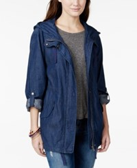 American Rag Hooded Denim Parka Only At Macy's