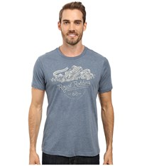 Royal Robbins Mountains Are Free Tee Slate Men's T Shirt Metallic