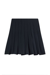Steffen Schraut The Academy Pleated Skirt Blue