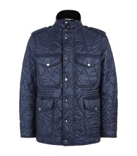 Burberry Brit Quilted Field Jacket Male Navy