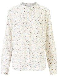 John Lewis Collection Weekend By Daisy Floral Shirt White Multi