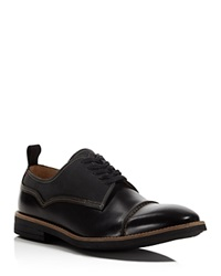 Paul Smith Skull Lace Up Derby Oxfords Black