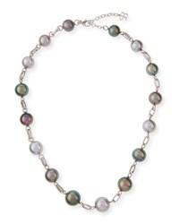 Belpearl Tahitian Pearl Necklace 18