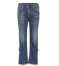 Citizens Of Humanity Drew Fray High Waisted Jeans Blue