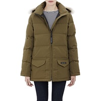 Fur Trimmed Solaris Parka Military Grn 49 Olv