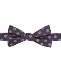 Vince Camuto Dotted Bow Tie Purple