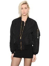 Alyx Quilted Destroyed Nylon Bomber Jacket