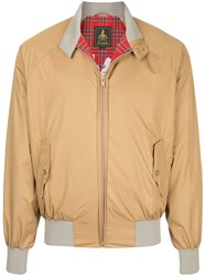 Hysteric Glamour Stand Up Collar Bomber Jacket Polyester Brown