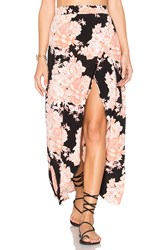 Cleobella Jack Wrap Skirt Black