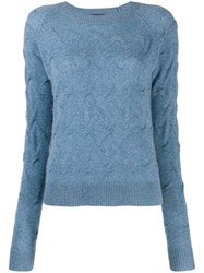 Theory Cashmere Jumper Blue