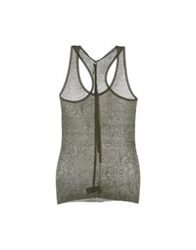 Jean Colonna Tops Military Green