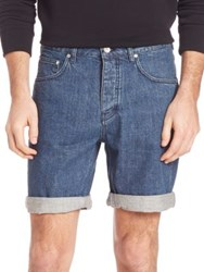 Wesc Conway Five Pocket Jean Shorts Light Slub