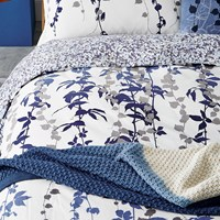 Clarissa Hulse Boston Ivy Duvet Cover Indigo King