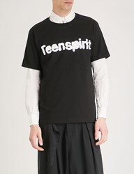 The Soloist Teen Spirit Cotton Jersey T Shirt Black