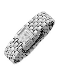 Raymond Weil Ladies' Diamond Pave Dial Stainless Steel Watch Silver