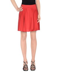 Emporio Armani Skirts Knee Length Skirts Women Red