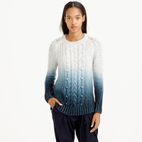 J.Crew Collection Dip Dye Sweater
