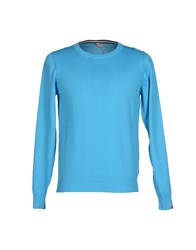 Colmar Originals Knitwear Jumpers Men Turquoise