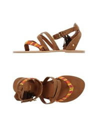 Pepe Jeans Thong Sandals Camel