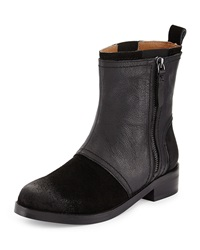 Kelsi Dagger Fame Short Leather Boot Black