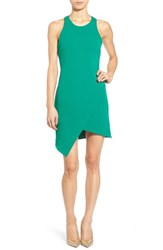 Women's Leith Stretch Crepe Tank Dress Green Cadmium