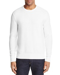 Michael Kors Textured Cotton Crewneck Sweater 100 Bloomingdale's Exclusive White