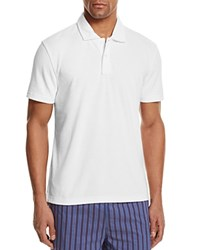 Bloomingdale's The Men's Store At Terry Cloth Regular Fit Polo Shirt Bleach White