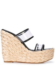 Ritch Erani Nyfc Tulum Wedge Sandals Black