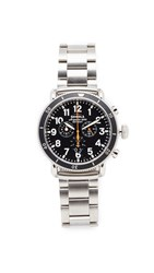 Shinola The Runwell Sport Chronograph 48Mm Watch Stainless Steel Black