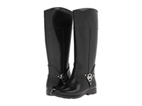 Michael Michael Kors Fulton Harness Tall Rainboot Black Women's Rain Boots